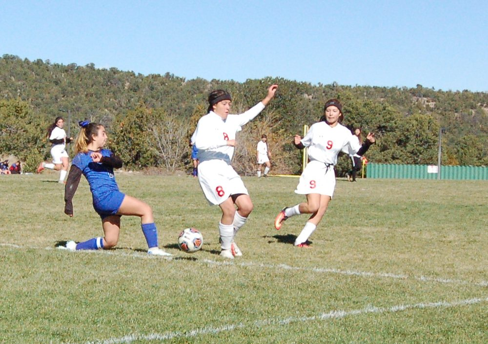 East Mountain girls soccer season ends in first round of state