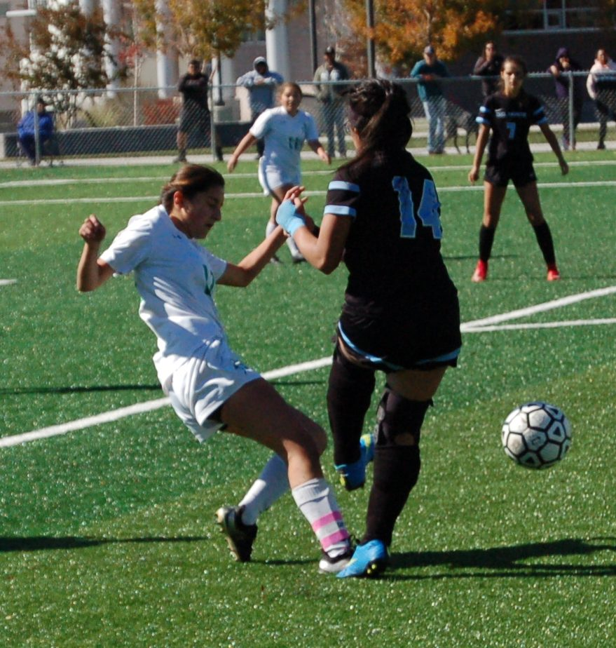 Lady Pintos fall in first round of state