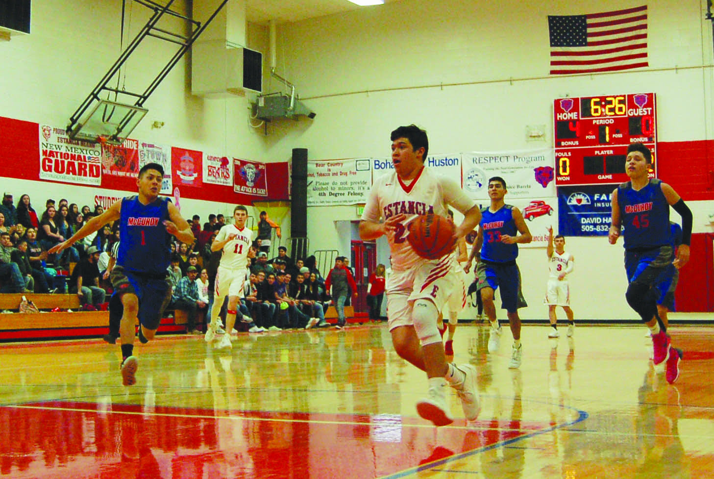Estancia Bears outshoot McCurdy Bobcats to claim third-straight BVC crown