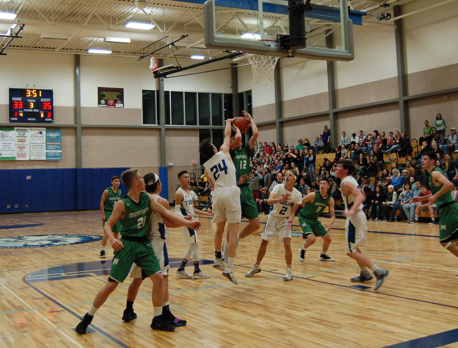 Free throws hoist East Mountain High to first-ever hoops win over Moriarty