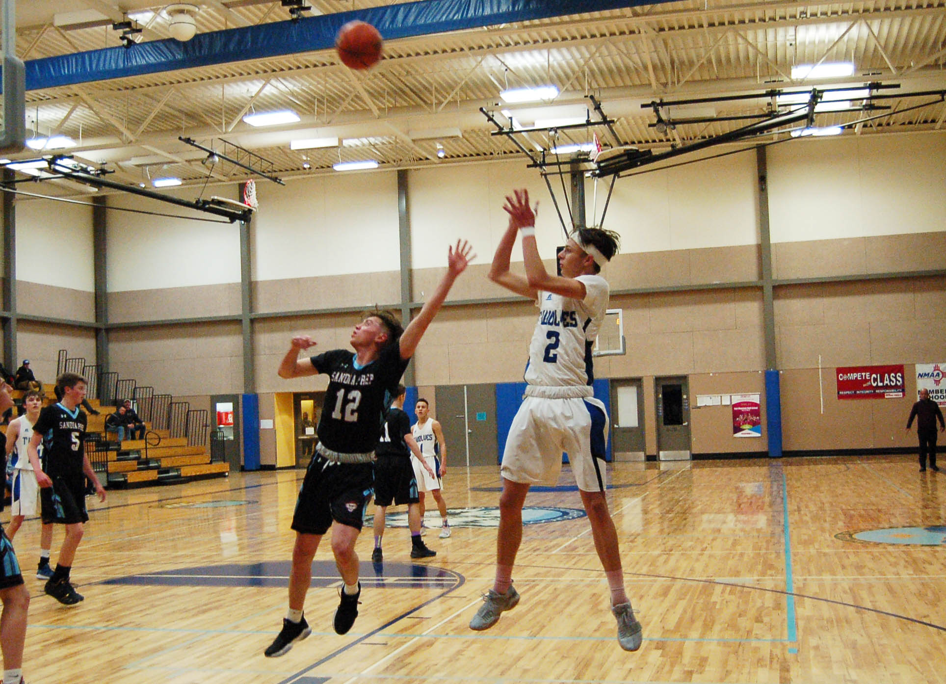 Frosty shooting sinks East Mountain in loss to Sandia Prep
