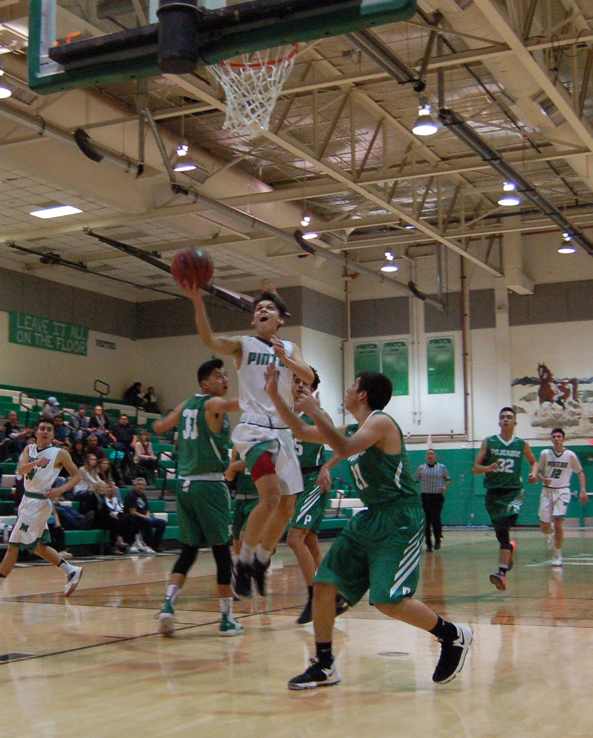 Pintos challenging hoops season ends with a string of losses