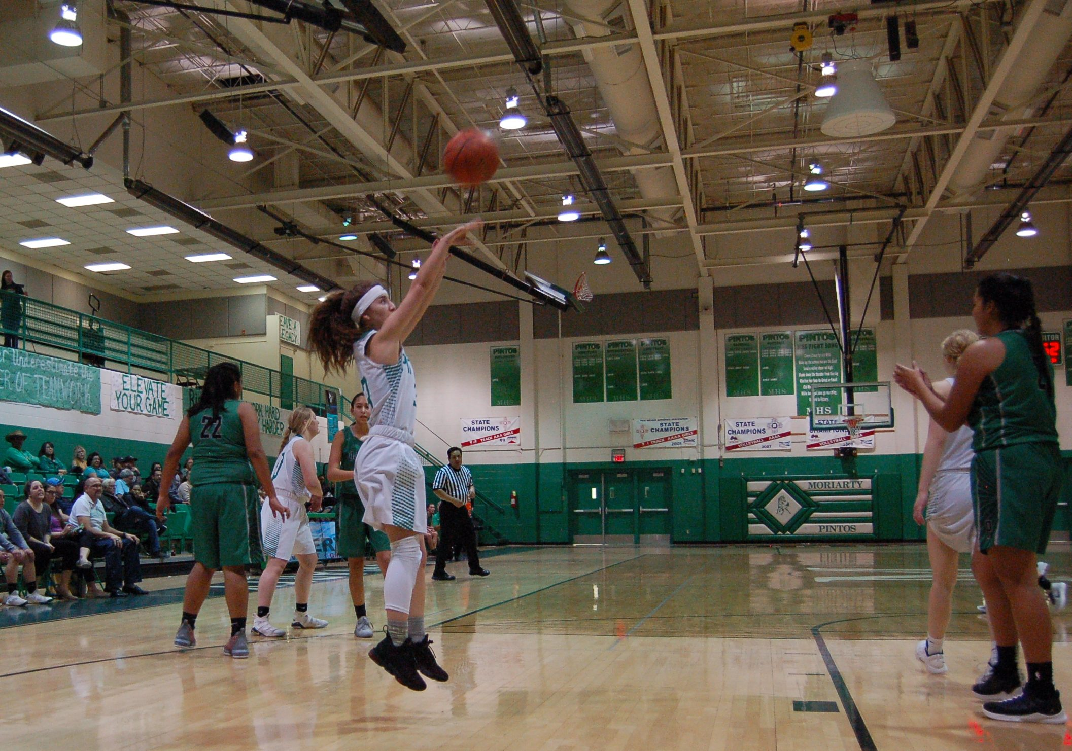 Good effort a silver lining for Lady Pintos in loss to Pojoaque Valley