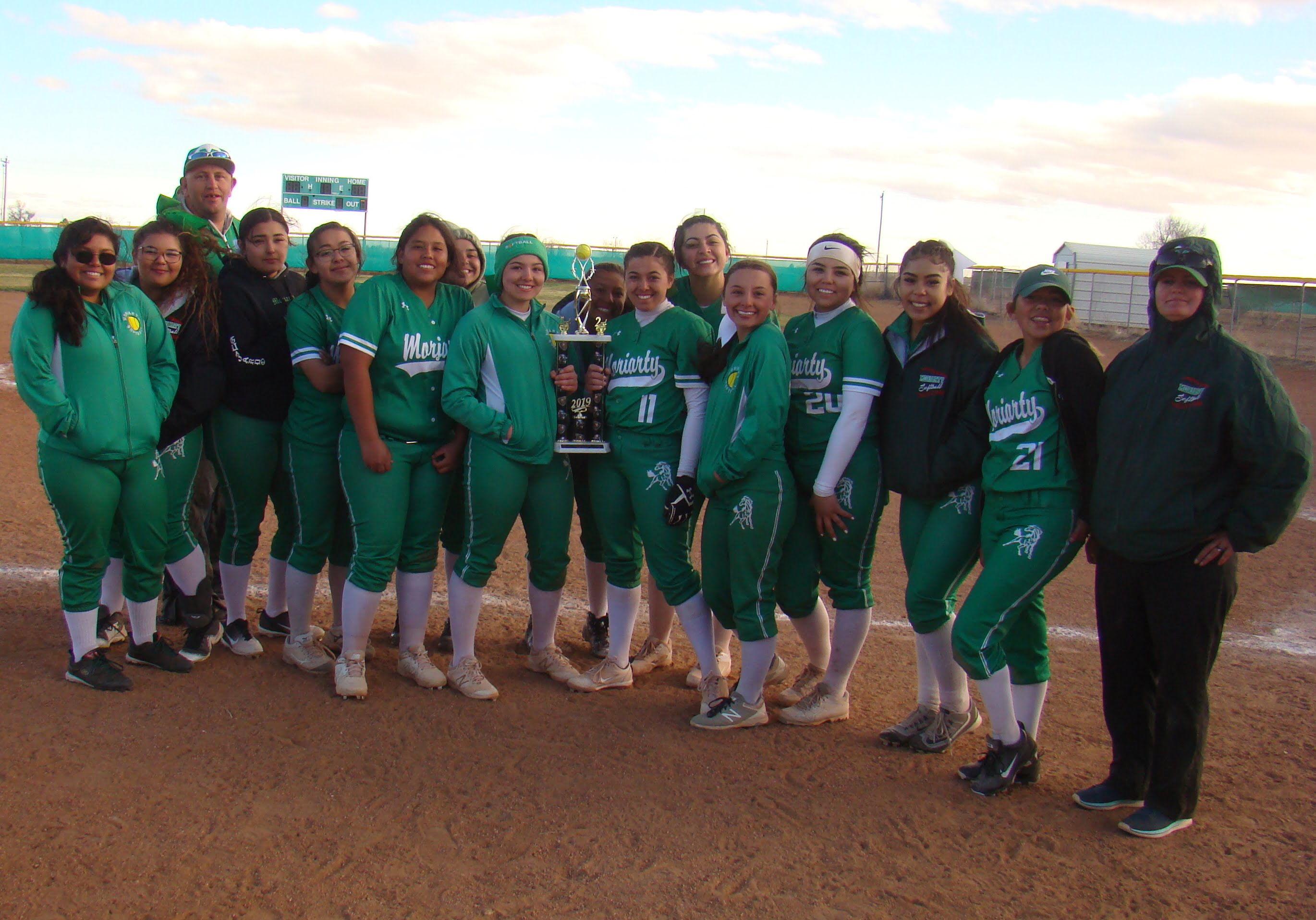 Lady Pintos settle for second place in annual Moriarty Invite softball tournament