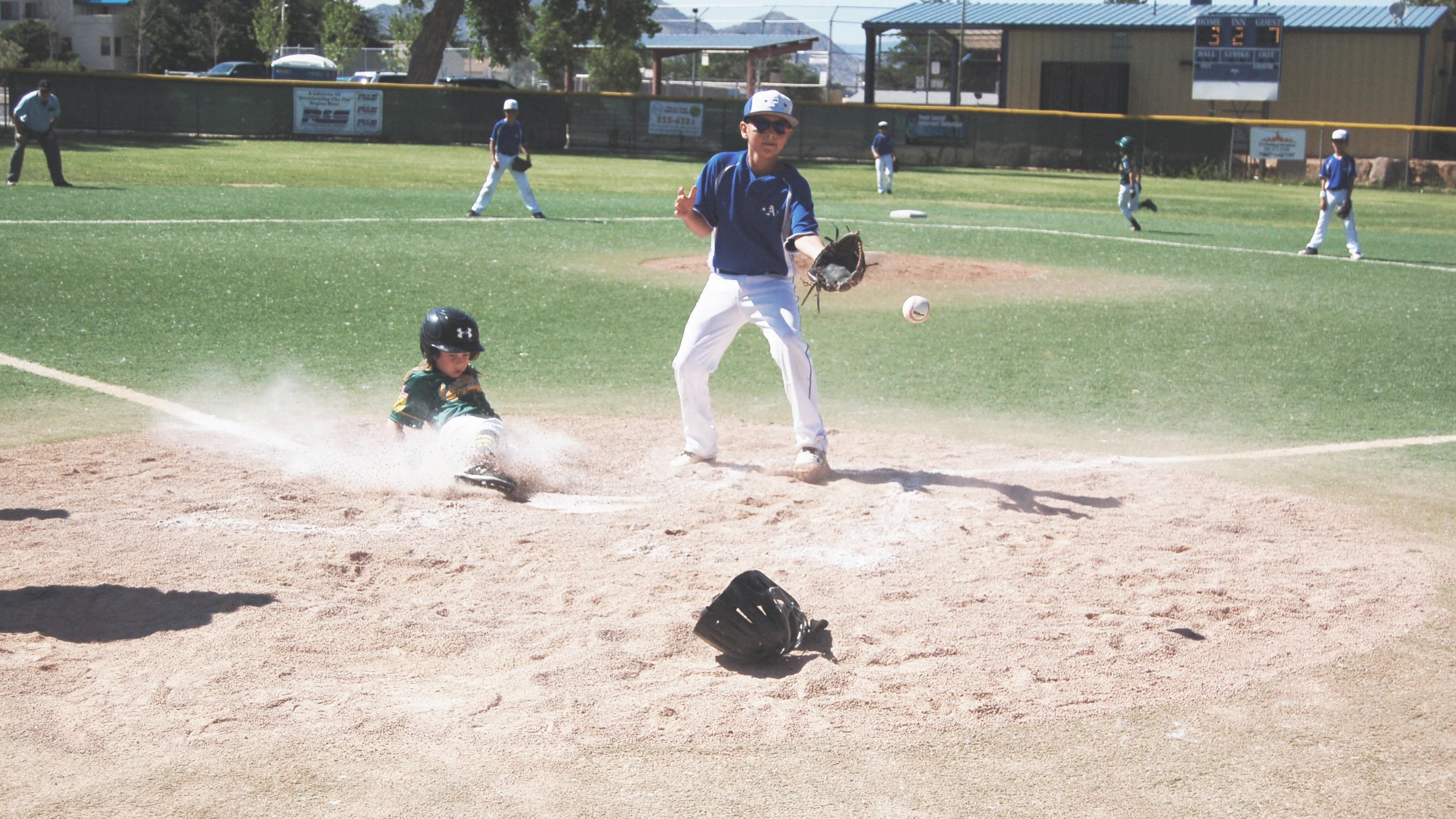 East Mtn. Little League Minors Division team wins first district championship in 25 years