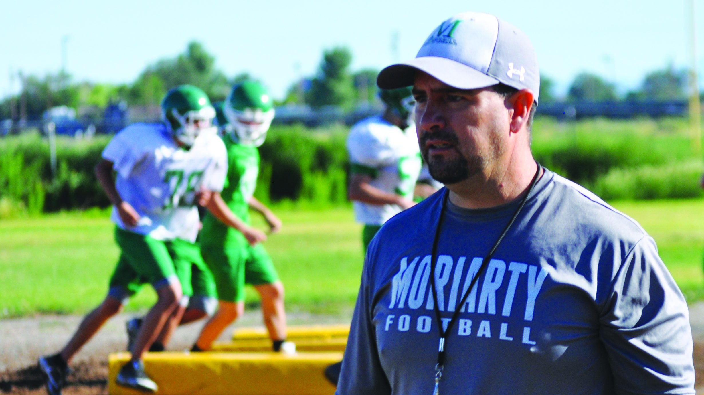 New Moriarty High football coach's main goal: 'to produce good young men of character'
