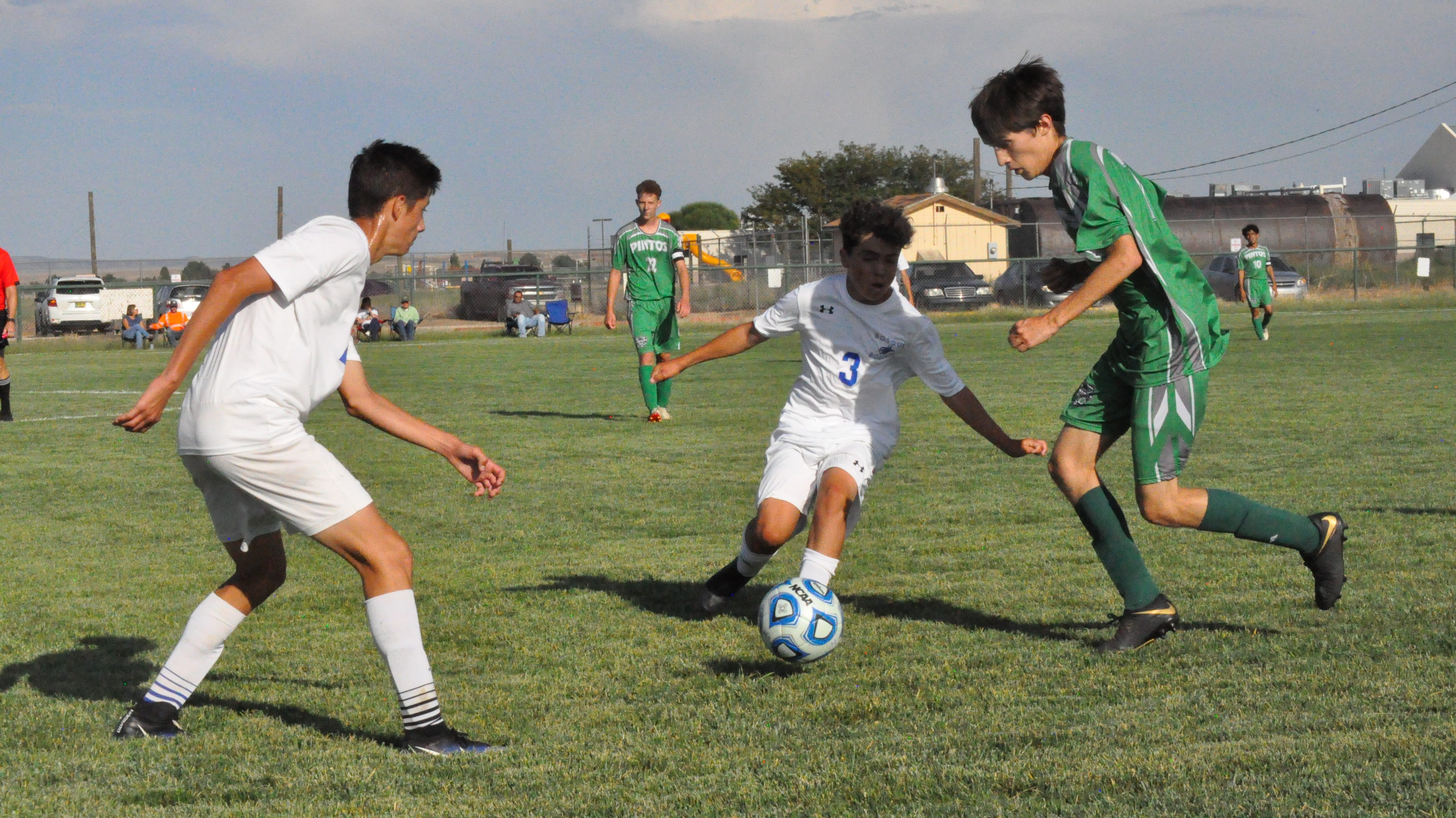 Pintos soccer 'a little rusty' in season-opening loss to Bosque