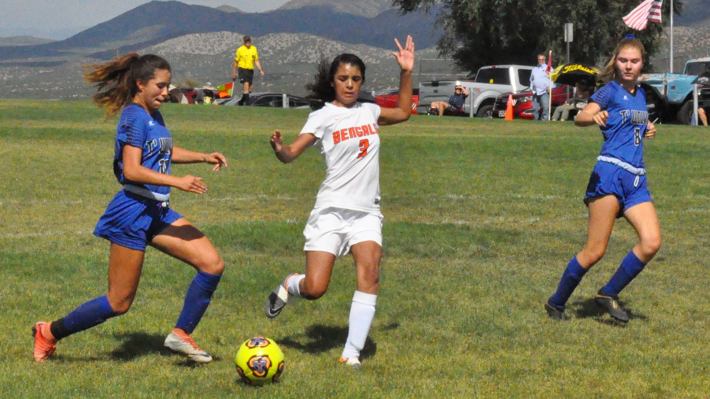 East Mtn. Lady T'Wolves topple Gallup in home opener