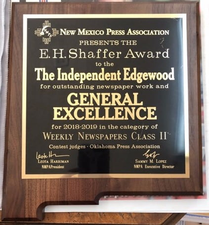 The Independent wins General Excellence at NMPA annual convention