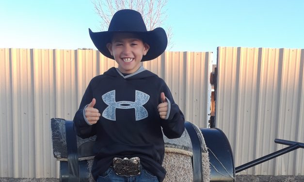 Moriarty 4th Grader Wins World Champ Buckle in Vegas