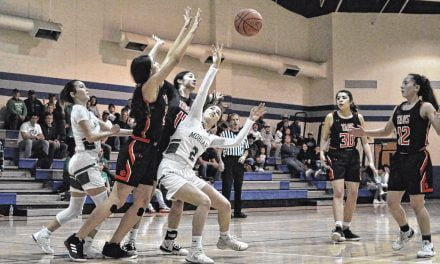 'Very determined' Lady Pintos topple Taos in district tournament opener