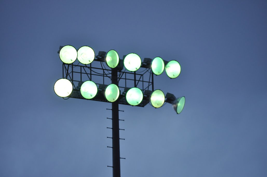 Moriarty stadium lights shine for 2020 seniors with #BeTheLight