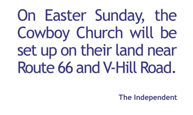 Church plans drive-in Easter services in Edgewood