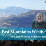 Thanksgiving Holiday Forecast for East Mountains