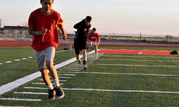Moriarty, Estancia student-athletes 'pumped' about summer workouts