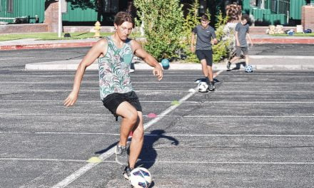 East Mountain boys soccer returns to workouts and 'making do'