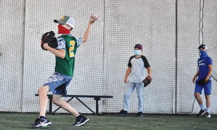 Baseball-hungry kids getting back into the swing of things at Duke City Cages