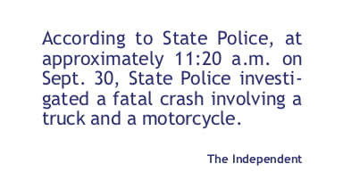 Fatal crash on North 14