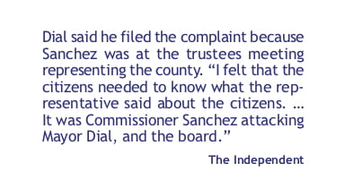 Estancia mayor files complaint against Torrance County commissioner