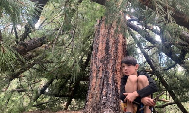 8-year-old boy passionate about hunting and conservation
