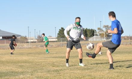 Moriarty's boys soccer workouts providing an outlet for the kids