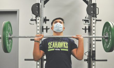 Student-athletes find an oasis from Covid-19 blues in their schools' weight rooms