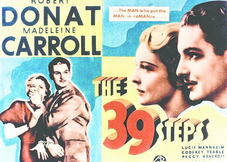 Free Movies in the Mountains (in Exile) suggests Alfred Hitchcock's 'The 39 Steps'