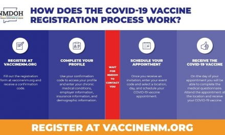 New Mexico has the nation's only online Covid vaccine registration