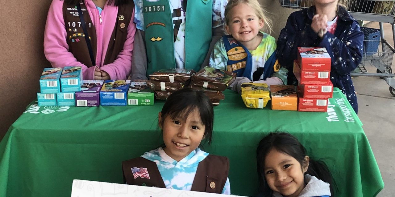 Girl Scout cookies are back, but sales are a little different this year