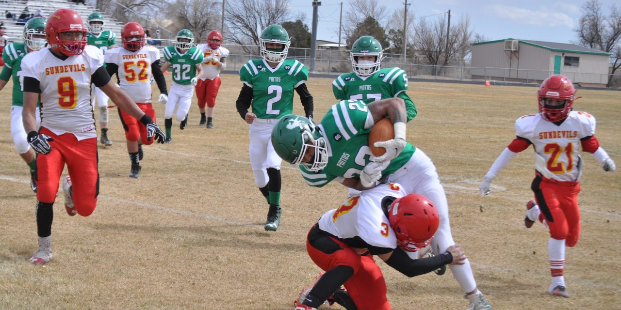 Moriarty football's first victory in 17 months: a 'sea of green' blowout