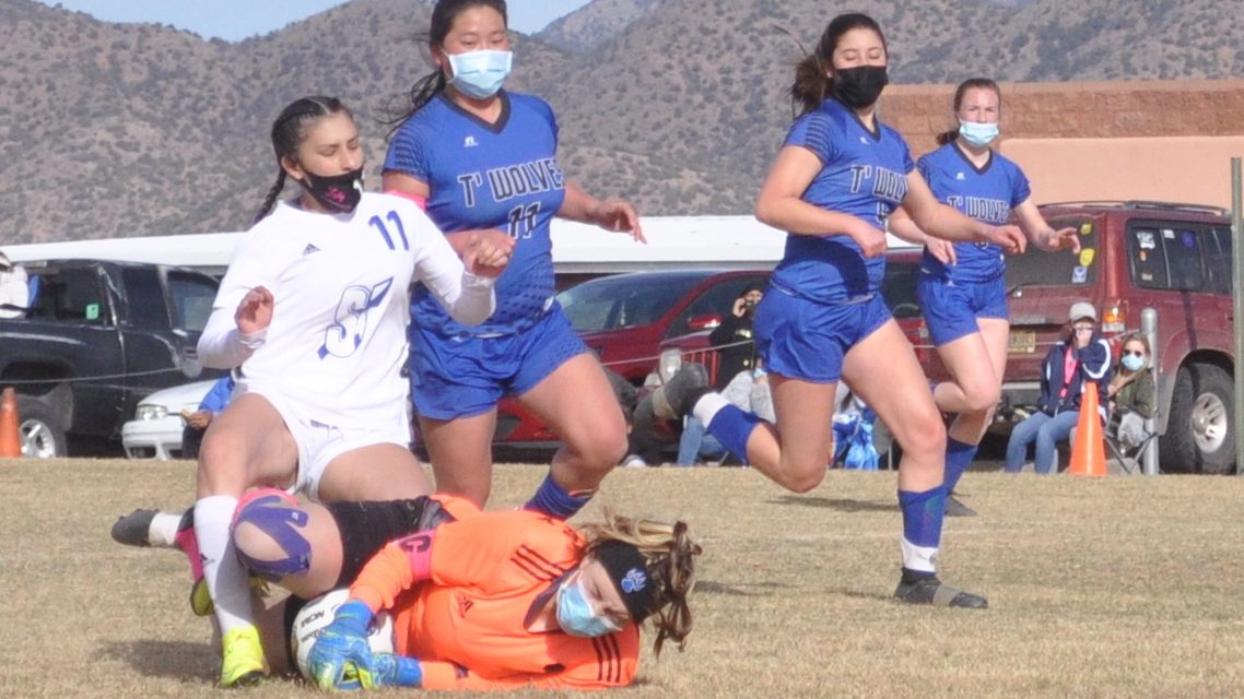 East Mountain girls soccer outlasts Moriarty with PK in double OT