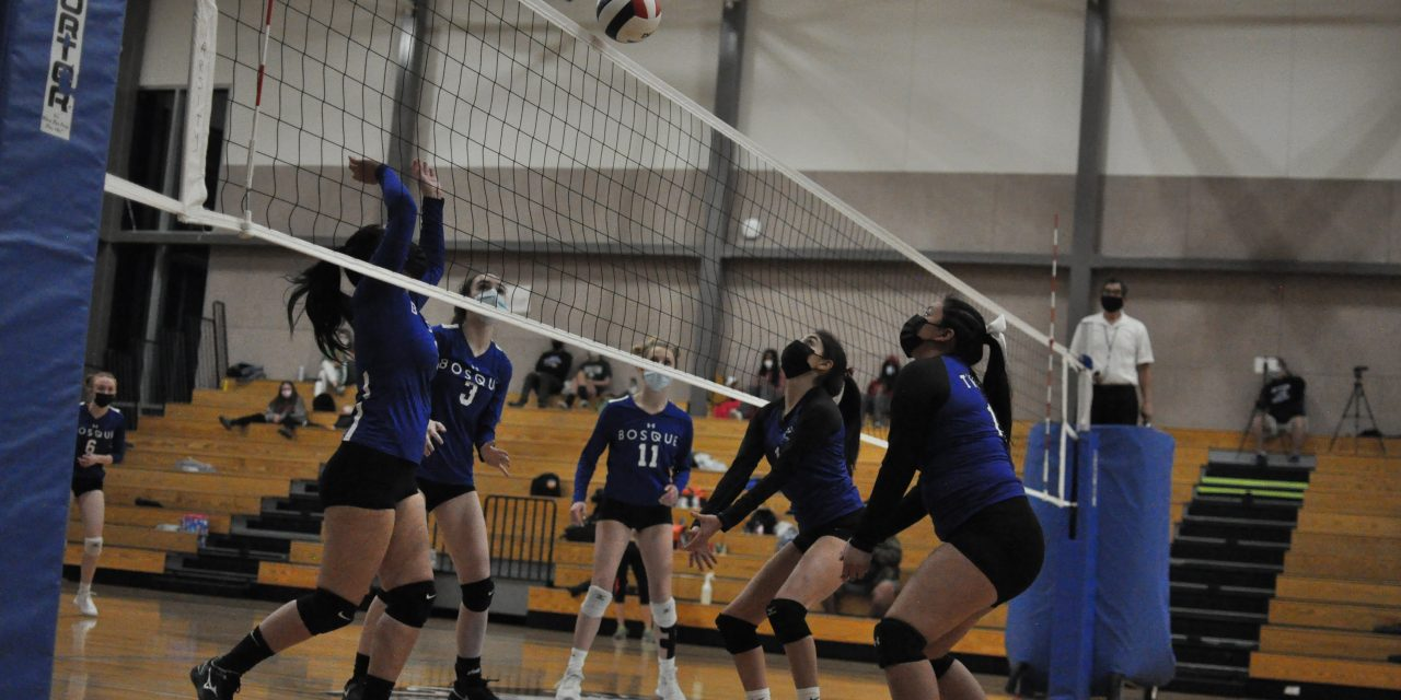 After dropping first three matches, East Mountain volleyball cruises past Cuba for first win