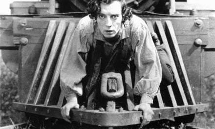 Free Movies in the Mountains (in Exile) suggests Buster Keaton in 'The General'