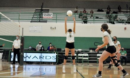 Moriarty volleyball tops East Mountain—with fans in the stands
