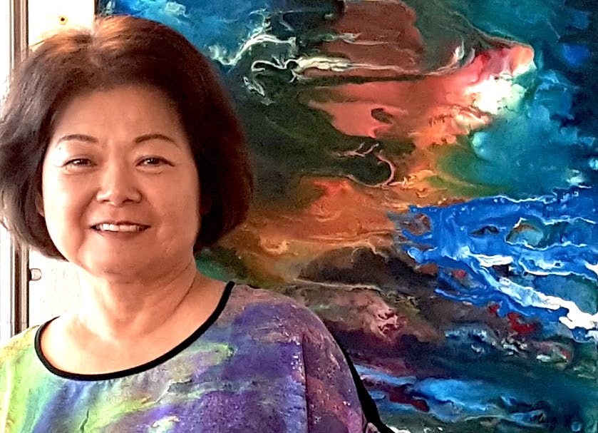 When the far East meets the Southwest: Edgewood painter Ming Franz