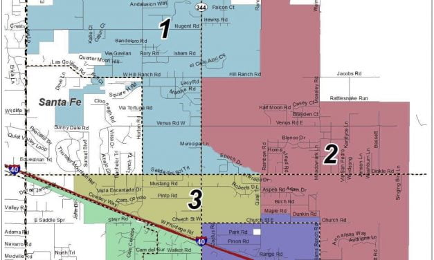Some possible districts for Edgewood