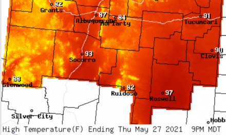 Forecast for the week of May 24 for the East Mountains and Estancia Valley