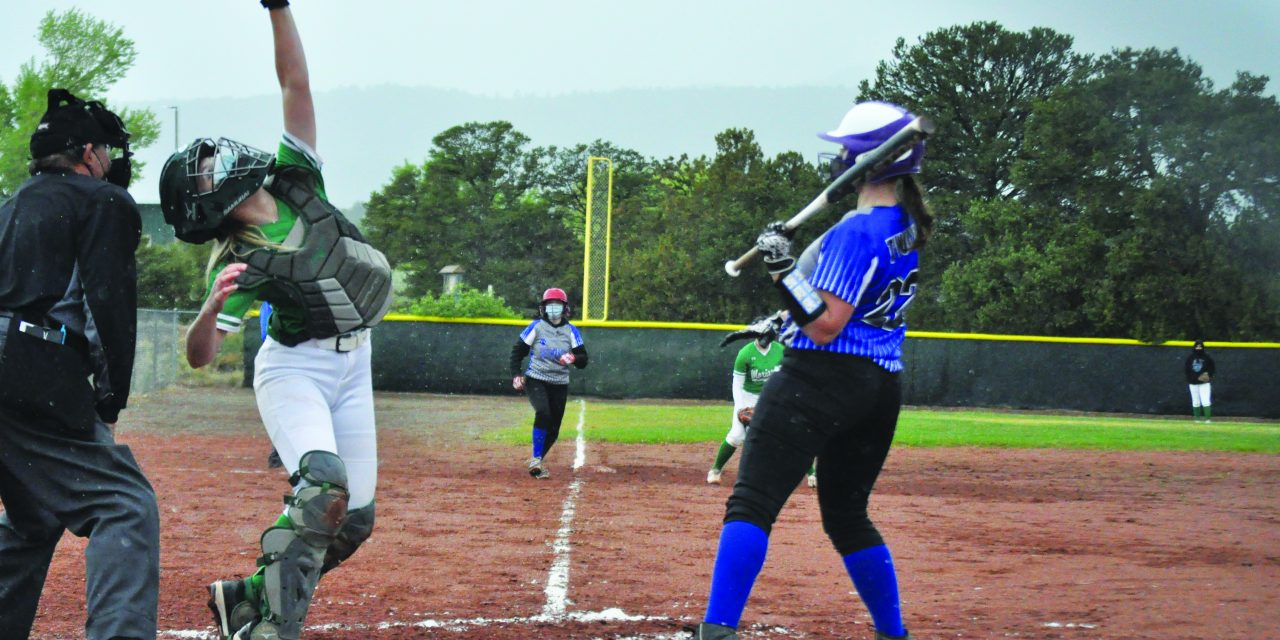 East Mountain softball slugfest with Moriarty gets washed out