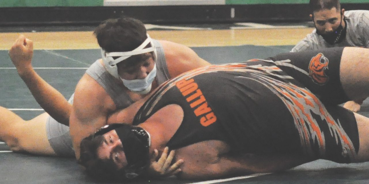 Moriarty grapplers 'wrestled their butts off' at Moriarty Quad meet