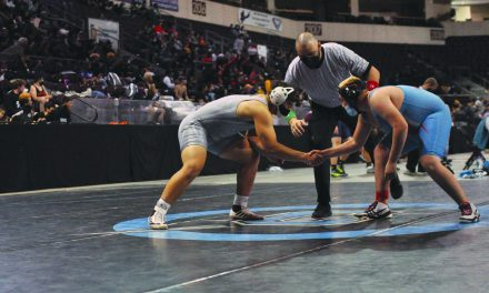 Moriarty's Kamplain wins state title, others shine at state wrestling championships