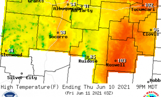 Forecast for the week of June 7: Hot and Dry