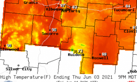 Forecast for the week of June 1 for the East Mountains and Estancia Valley