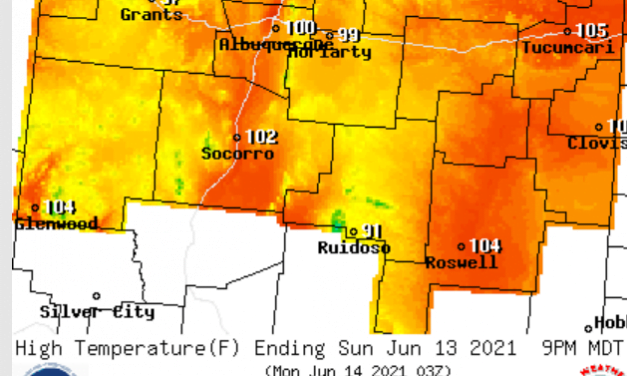 June 11-13 Forecast: Very hot through the weekend