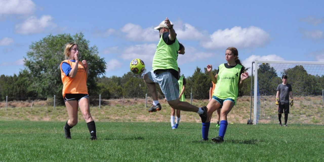 East Mountain High's soccer summer workouts going 'full-steam ahead'