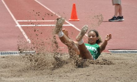 'Good to see' Moriarty's strong performances at 4A state track meet