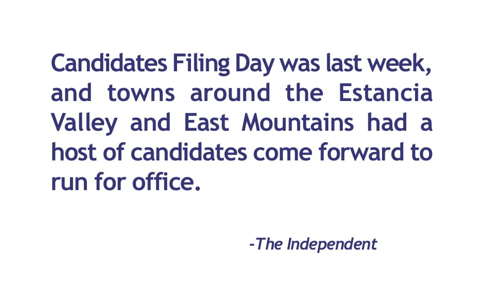 Who's running for local office
