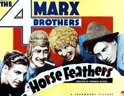 Movies in the Mountains [in Exile]: The Four Marx Brothers in 'Horsefeathers'