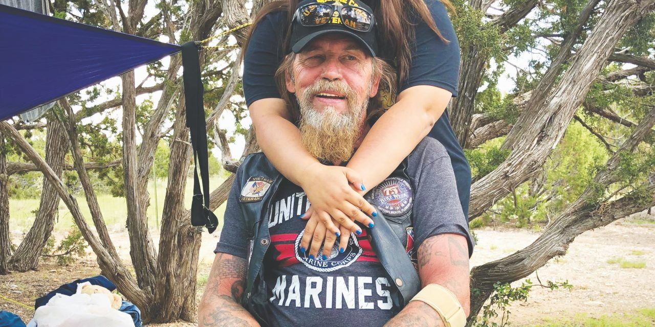 Helping a stranded veteran get back on the road