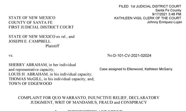 Lawsuit alleges fraud and conspiracy against Edgewood councilor