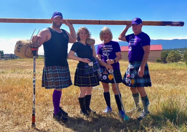 Highland games are a family affair for the Thompsons